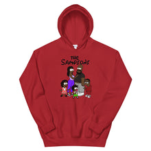 "Load image into Gallery viewer, ""The Sampsons"" Unisex Hooded Sweatshirt"