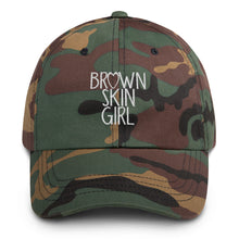"Load image into Gallery viewer, ""Brown Skin Girl"" Dad Hat"