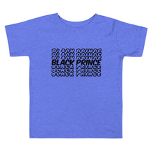 "Load image into Gallery viewer, ""Black Prince"" Toddler Short Sleeve Tee"