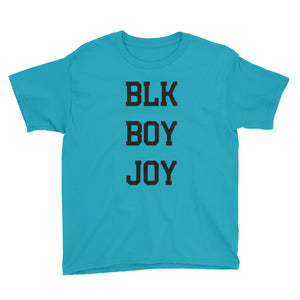 """Blk Boy Joy"" Youth Short Sleeve T-Shirt"