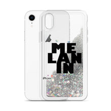 "Load image into Gallery viewer, ""Melanin"" Liquid Glitter Phone Case"