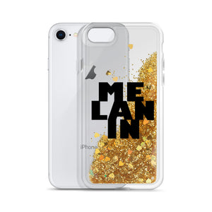 """Melanin"" Liquid Glitter Phone Case"