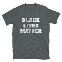 "Load image into Gallery viewer, ""Black Lives Matter Names"" Unisex T-Shirt"