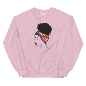 """Head Wrap"" Unisex Sweatshirt"
