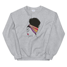 "Load image into Gallery viewer, ""Head Wrap"" Unisex Sweatshirt"