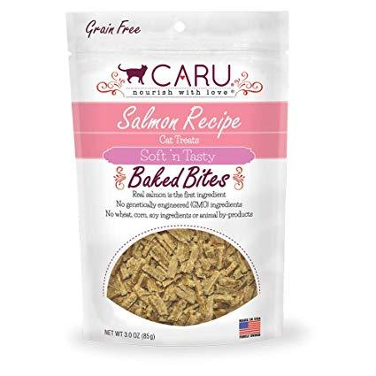 Caru Natural Salmon Bites (CAT) 3 oz