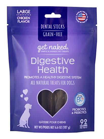 Get Naked - Digestive Health Chew Sticks Large 6.6oz