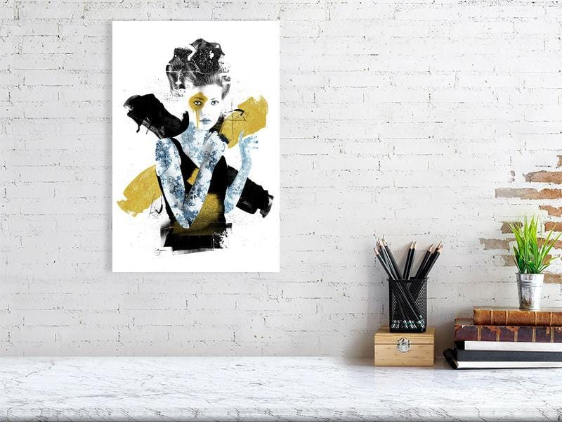 Aerial Gold - Urban Punkz Limited Edition Prints