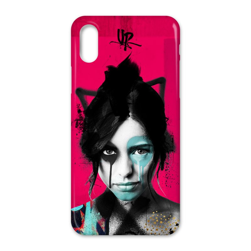Shisei  Pink iPhone X Case