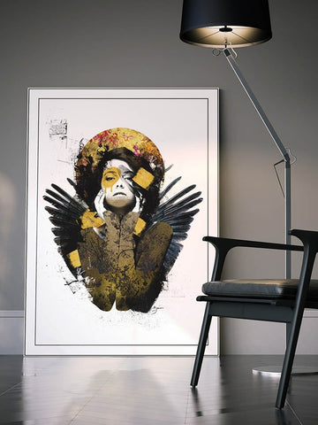 Serenity Gold - Urban Punkz Limited Edition Prints