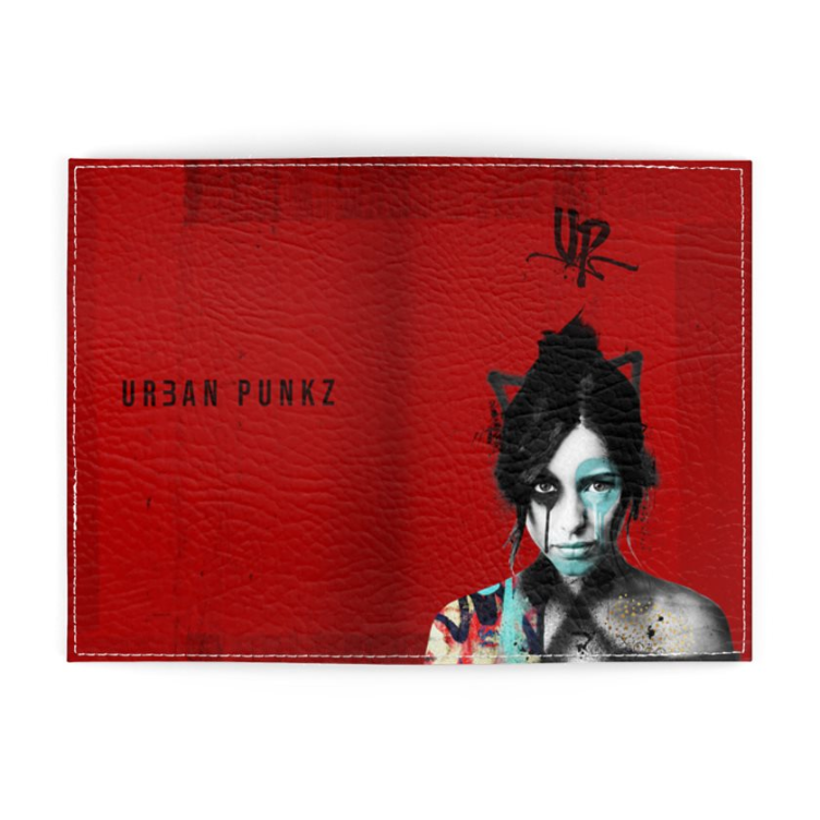 Urban Punkz Red Passport Cover