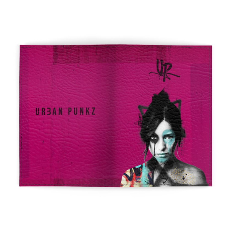 Urban Punkz Violet Passport Cover