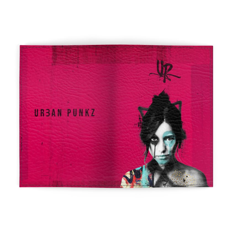 Urban Punkz realy pink Passport Cover