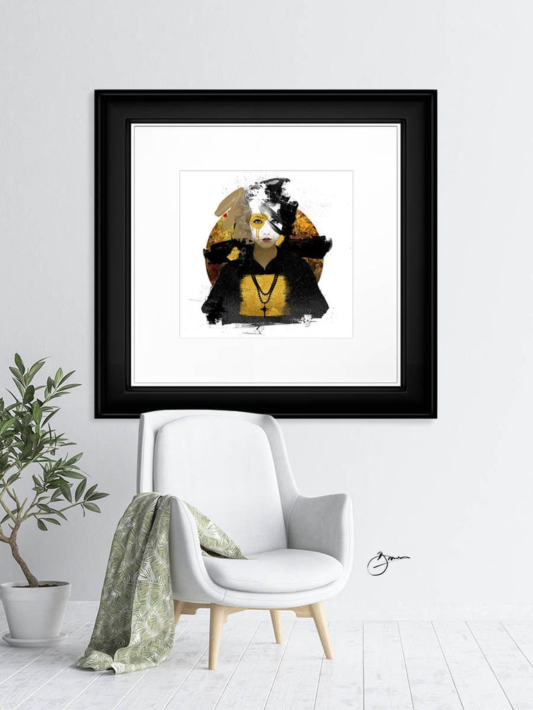 Kibō Gold - Urban Punkz Limited Edition Prints