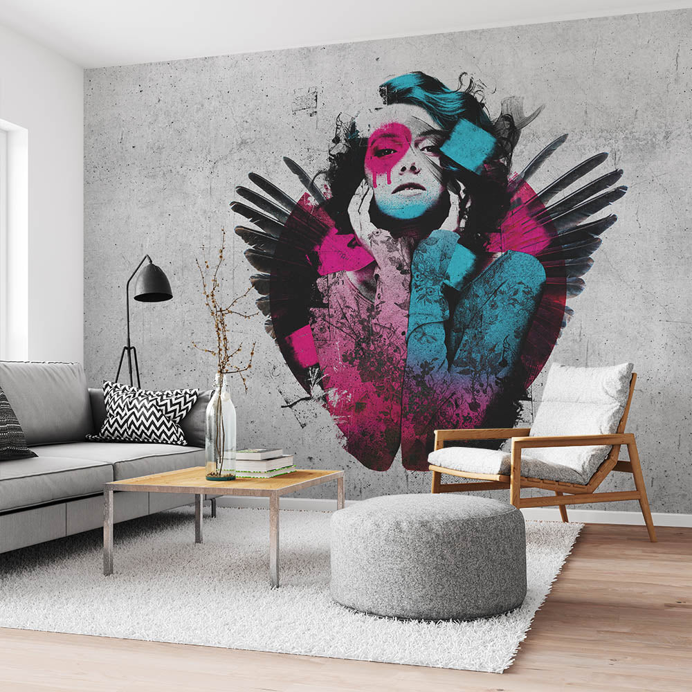 Serenity street art Wallpaper by Urban Punkz