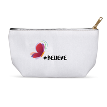 Load image into Gallery viewer, Believe, Butterfly Accessory Cosmetic Bag