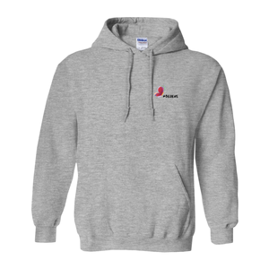 Believe Hoodie #Believe Hashtag Hoodie for Men (No-Zip/Pullover)