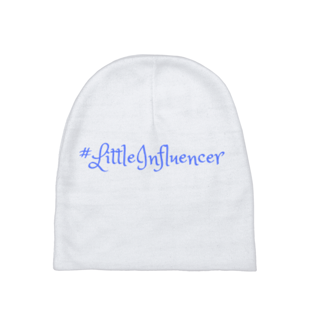 Little Influencer Blue Baby Beanies
