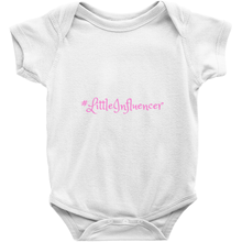 Load image into Gallery viewer, Little Influencer Onesies Pink Print