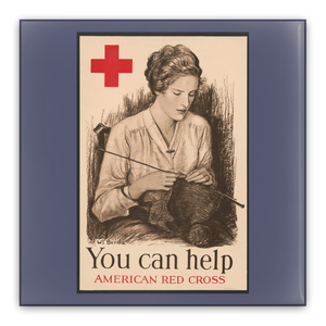 You Can Help American Red Cross Vintage WW1 Pin-Back Buttons