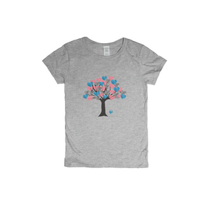 Heart Tree of Life to Tree of Love Woman T-Shirt XS to XXXL