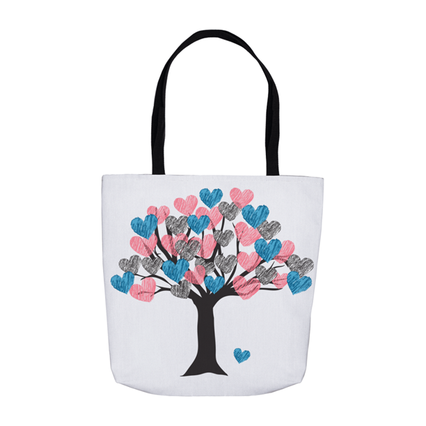 Tree of Love Tote Bag LARGE