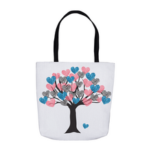 Load image into Gallery viewer, Tree of Love Tote Bag