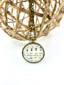 To the Garden Hymn Pendant