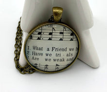 Load image into Gallery viewer, What A Friend Hymn Pendant