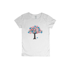 Load image into Gallery viewer, Heart Tree of Life to Tree of Love Woman T-Shirt XS to XXXL