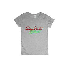 Load image into Gallery viewer, Daydream Believer Red and Green Woman T-Shirt XS to XXXL Comfy Fit