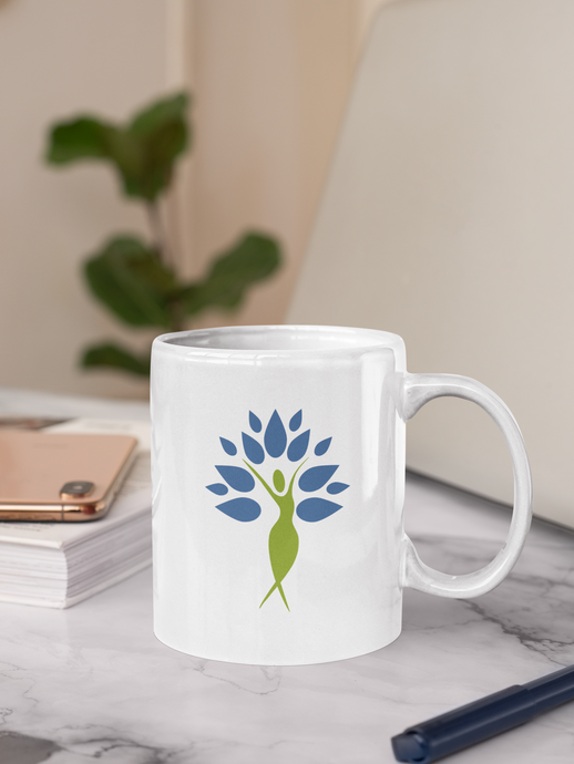 Yoga Woman Tree of Life Mug