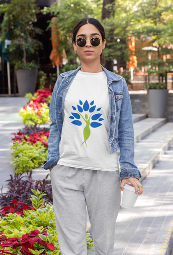 Yoga Tree of Life Woman T-Shirt