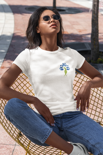 Yoga Tree of Life T-Shirt Woman
