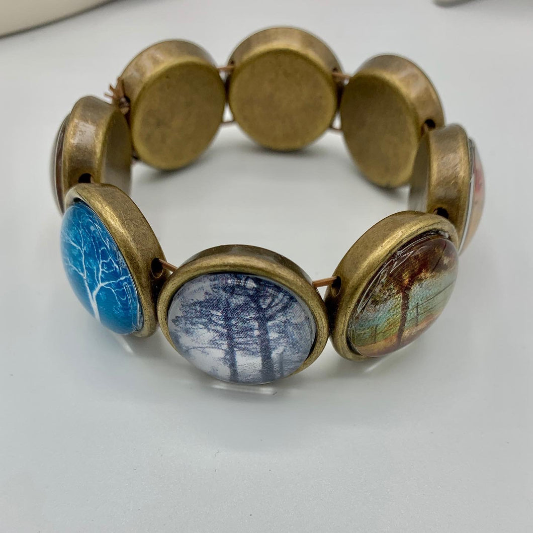 Trees in all Seasons Bracelet