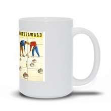 Load image into Gallery viewer, Curling, Vintage Poster Mugs
