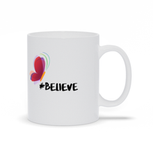 Load image into Gallery viewer, Butterfly Believe Ceramic Mug