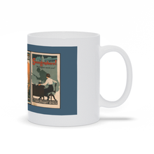 Load image into Gallery viewer, Vintage WW1 Womens Land Army Poster Propaganda Mugs
