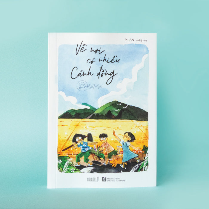 artbook ve noi co nhieu canh dong - hoa si le phan