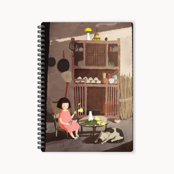 monosketch wirebound notebook Old Kitchen
