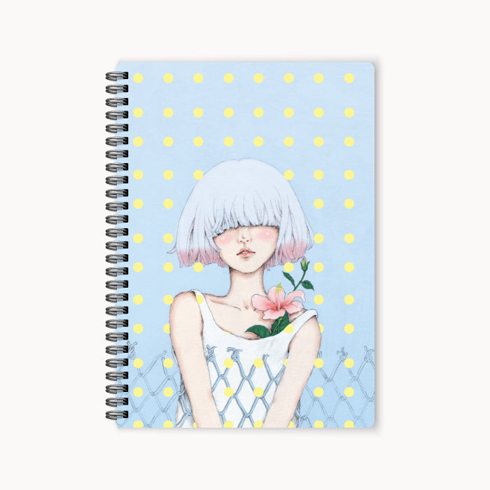 monosketch wirebound notebook Polka