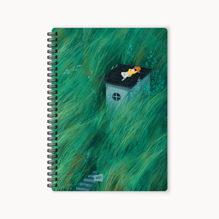 monosketch wirebound notebook Quiet Summer