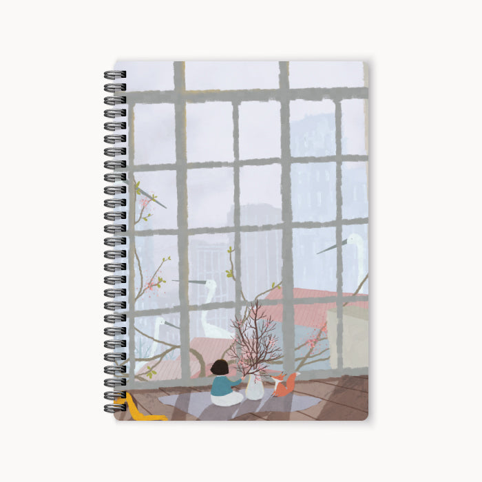 monosketch wirebound notebook Urban Emptiness