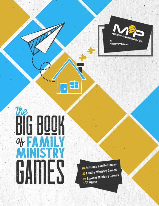 THE BIG BOOK OF FAMILY MINISTRY GAMES (All Ages)