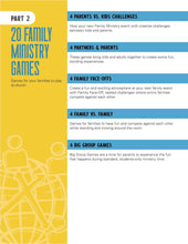 Load image into Gallery viewer, THE BIG BOOK OF FAMILY MINISTRY GAMES (All Ages)