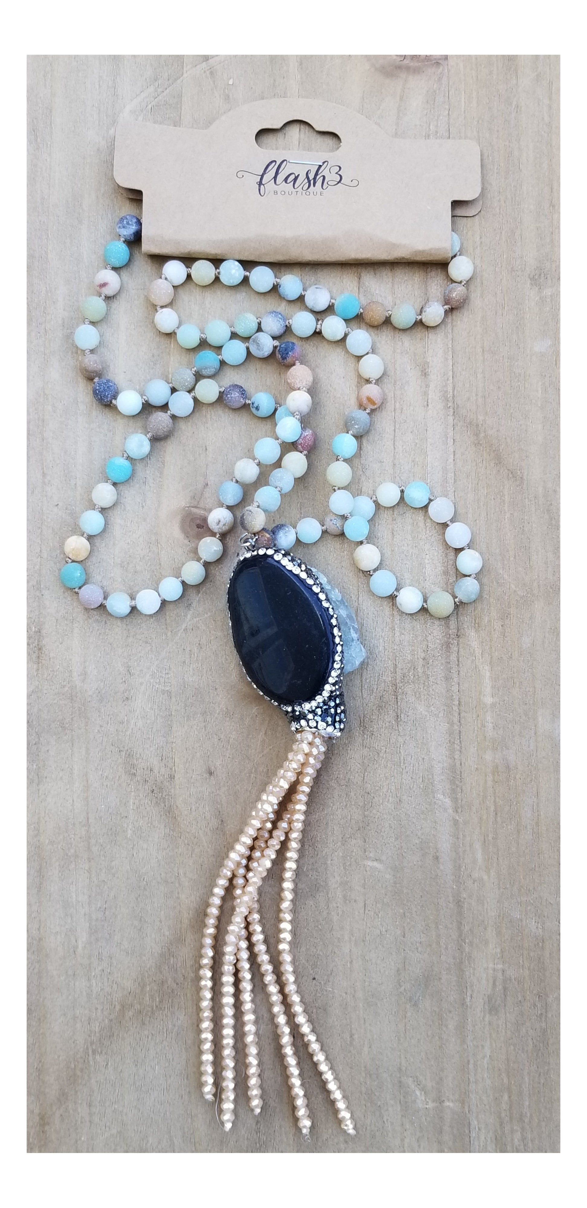 Natural Amazonite - Flash3 Boutique