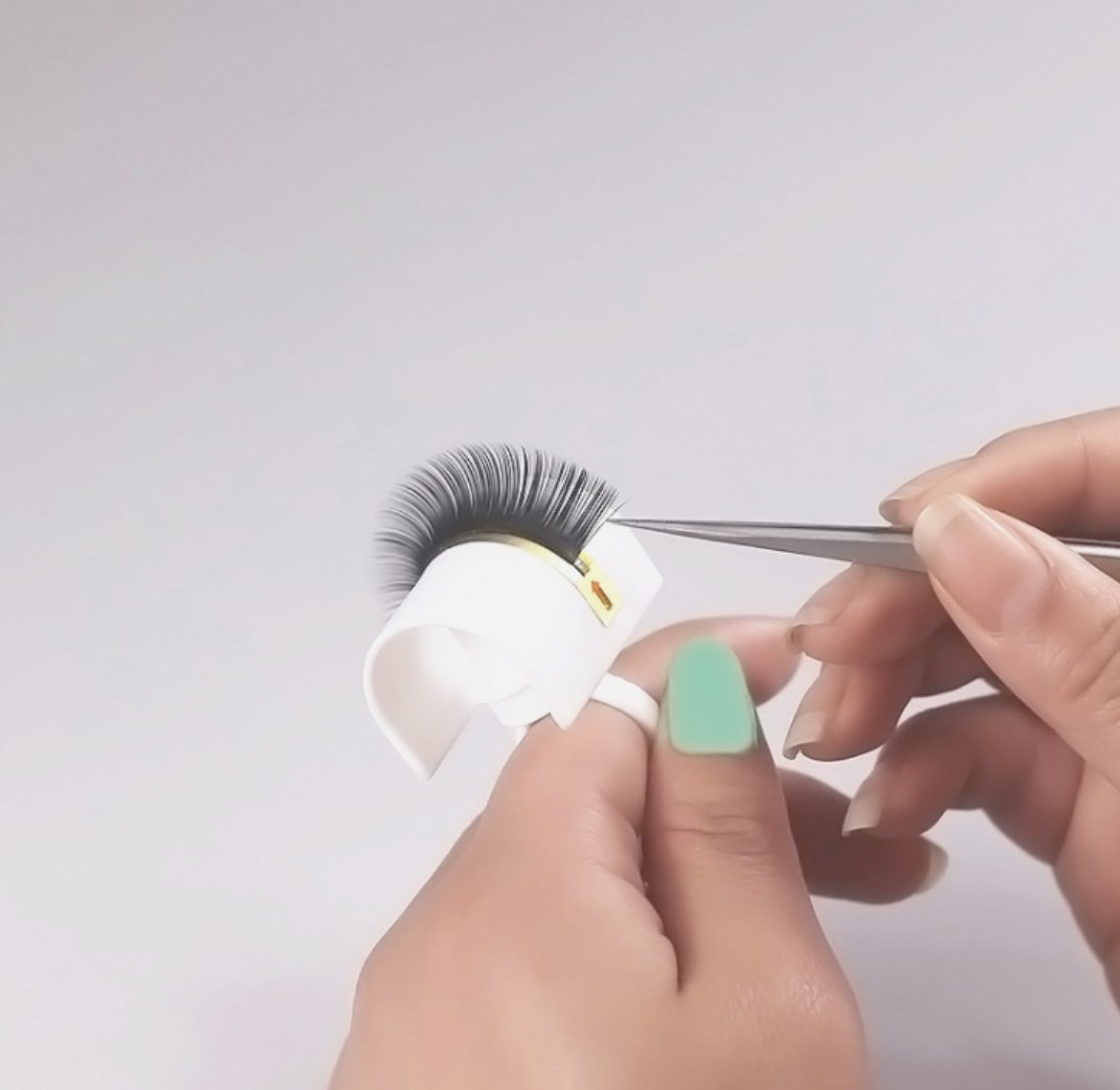 U shaped Ring Band for Eyelash Extensions