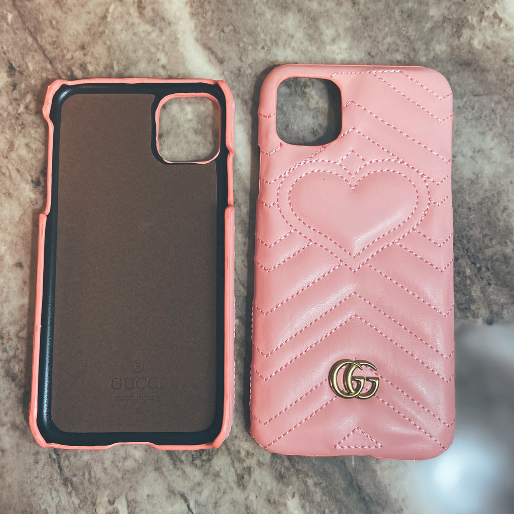 Cell Phone Cases - GG Marmont Designer Inspired Look Case - iPhone11, iPhone11 Pro, & iPhone11 ProMax - Flash3 Boutique