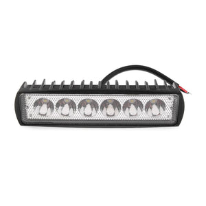 Police Light 1PC 18W 800LM 6 LED Bright Light Spot Work Bar