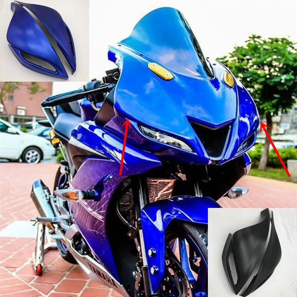 Yamaha YZF R15 V3 Style R3 R25 2018 Windshield Wind Screen Fairing Headlight Light Lamp Cover Shell Motorcycle Accessories